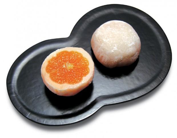 みかん大福瓢箪皿